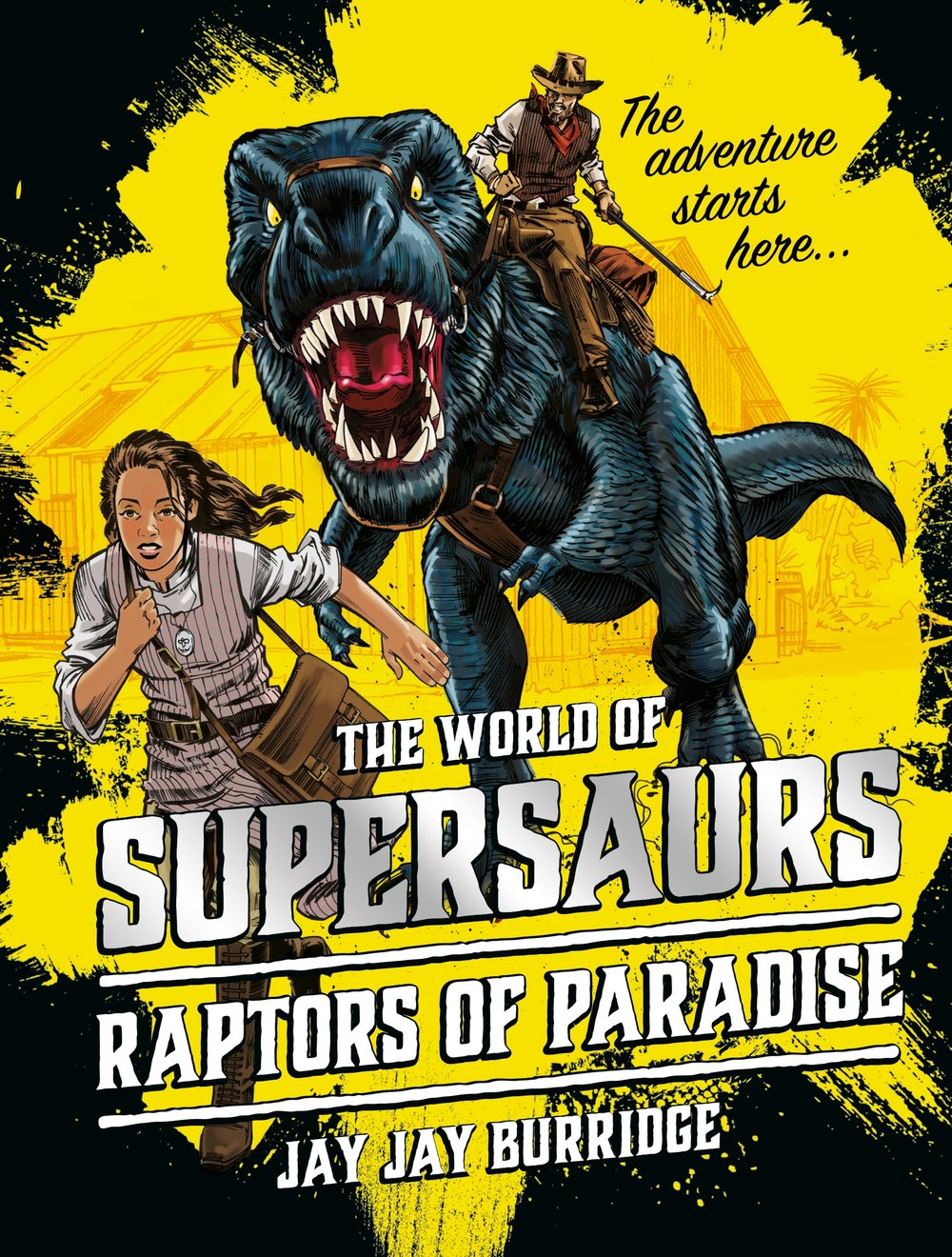 Supersaurs RAPTORS OF PARADISE cover