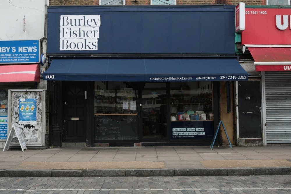 Burley Fisher Books in Haggerston - shortlisted in the London category