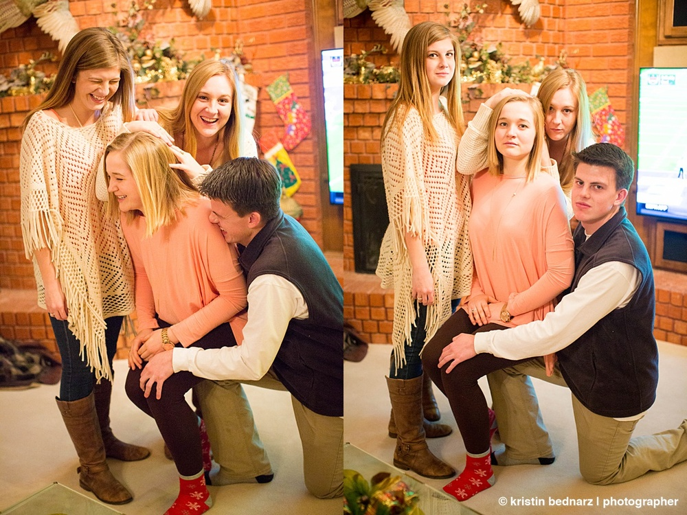 """We always try for the """"Awkward Family Photo"""". They are pretty darn good at it."""