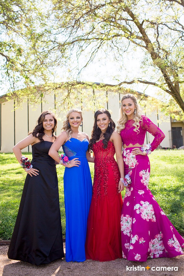 Pretty Wildcats before Prom, April 2016.