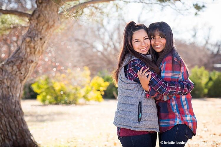 De Los Santos sisters, Christmas 2015.
