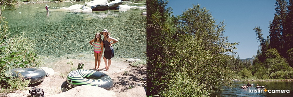 I took my camera down to the river bank one day and tried to take pictures of everyone.
