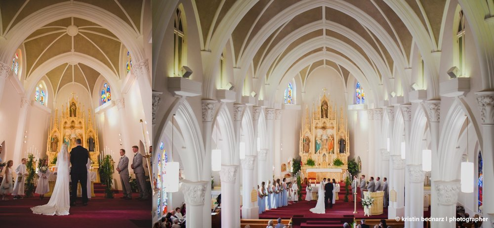 Just a gorgeous space for the sacrament of marriage.  BRAVO!