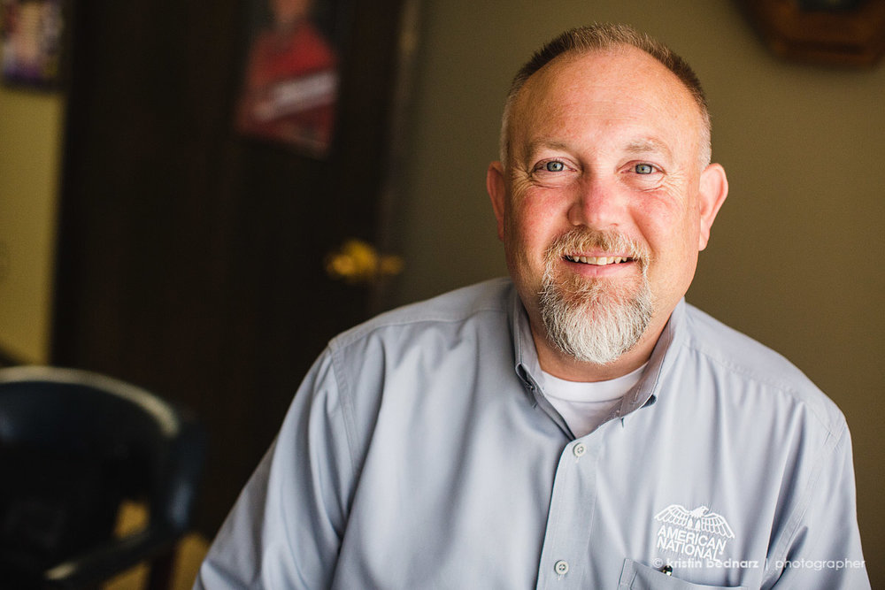 I photographed Dan Baze for a business sponsor spotlight for one of the magazines I work for.