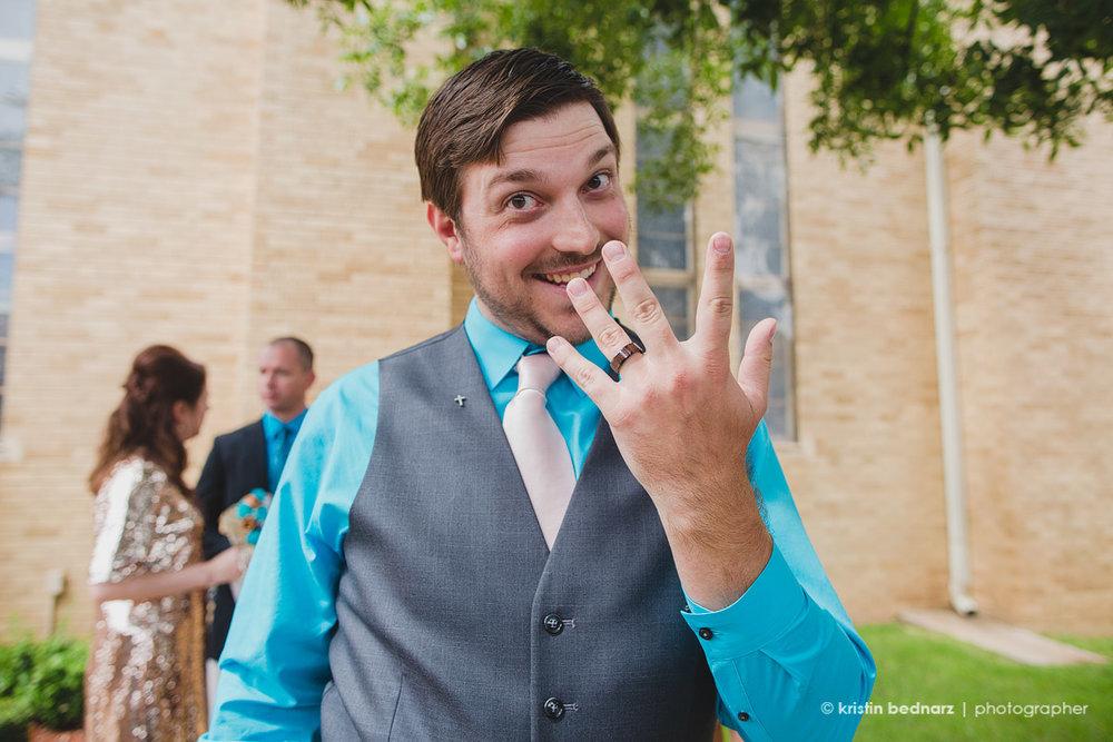 Kaleb got married!