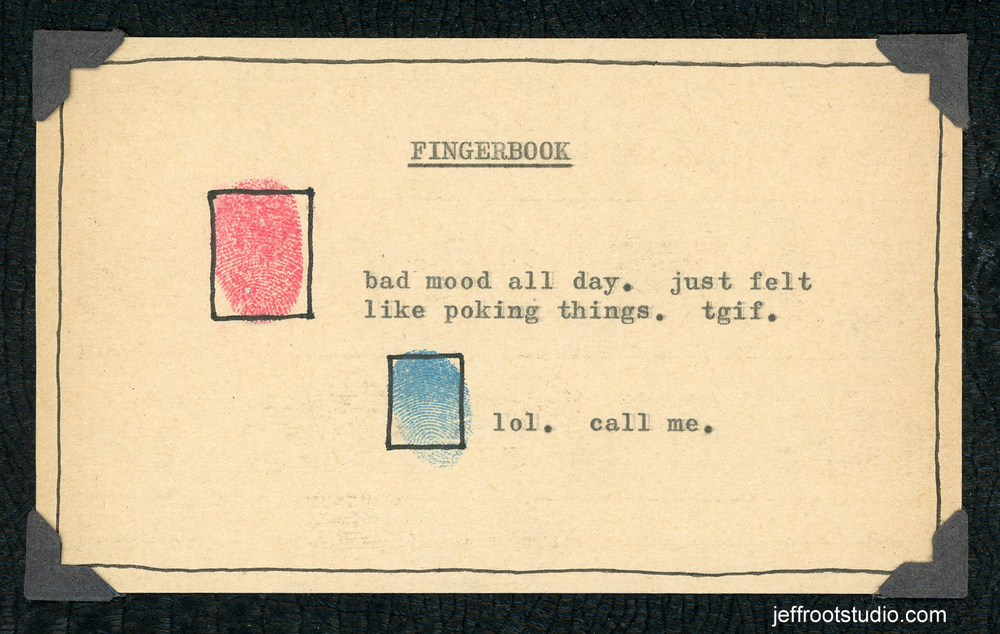 Fingerbook: A Place For Fingers.