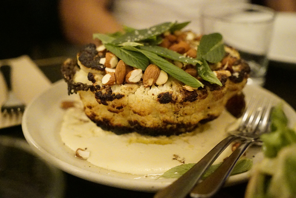 Roasted Cauliflower at Ester