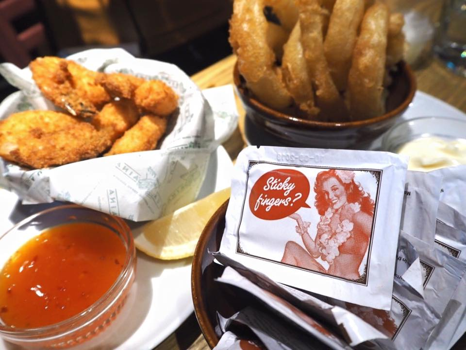 Fried chicken and wedges and hand wipe.jpg