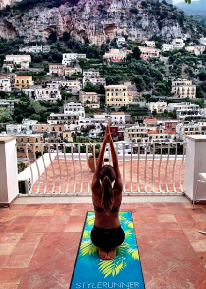 If only all yoga classes had this view.