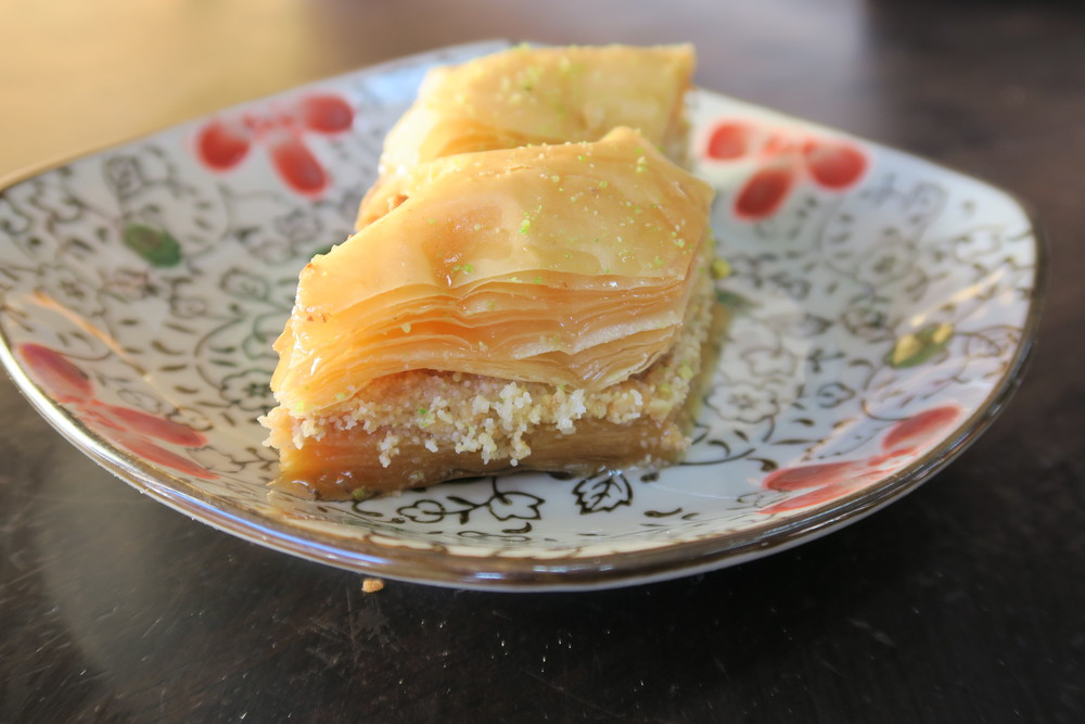 Seriously good Baklava.