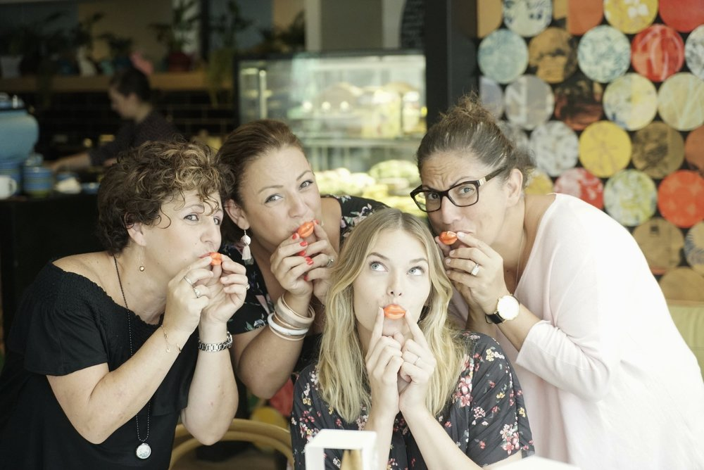 chocolate lips at QTea high tea gold coast.JPG