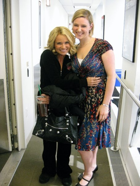 Laura with Kristin Chenoweth