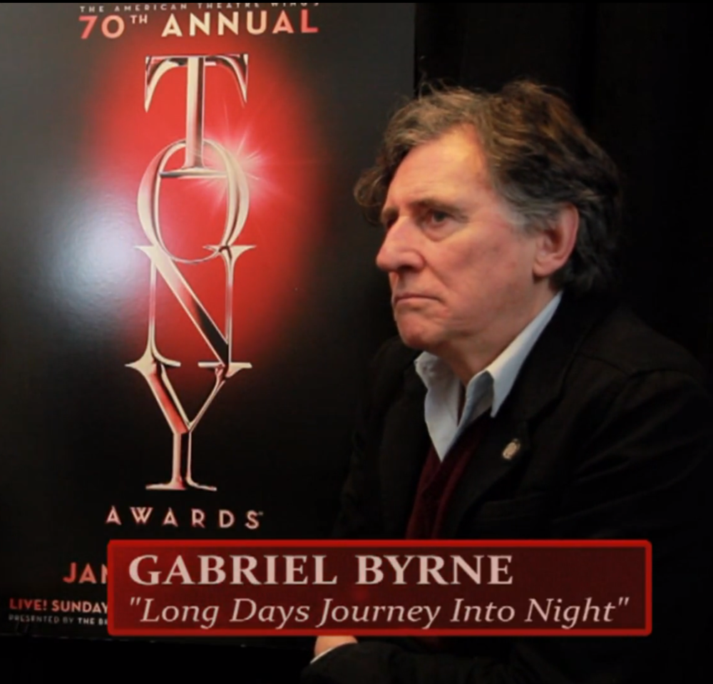 "Gabriel Byrne ""A Long Day's Journey Into Night"""