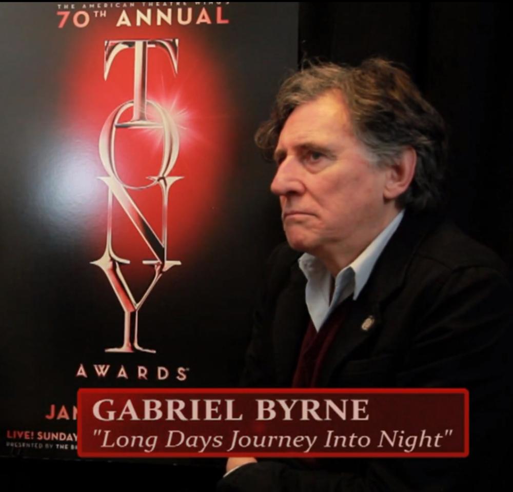 "Gabriel Byrne ""A Long Day's Journey Into Night"""