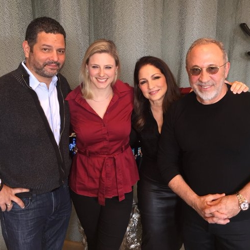 "Gloria Estefan, Emilio Estefan & Alex Dinelaris ""On Your Feet!"""