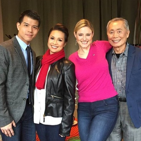 "George Takei, Lea Salonga & Telly Leung ""Allegiance"""