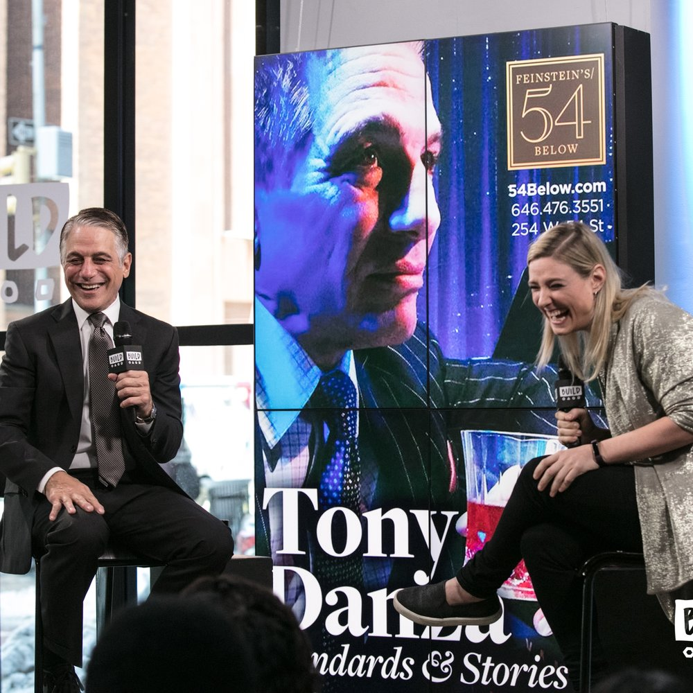 "Tony Danza ""Standards & Stories,"" ""There's Johnny"" & Alleva Cheese"
