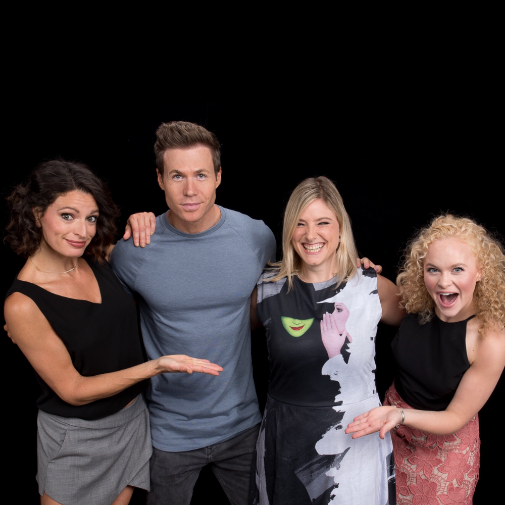 "Jackie Burns, Ashley Parker Angel & Amanda Jane Cooper ""Wicked"""