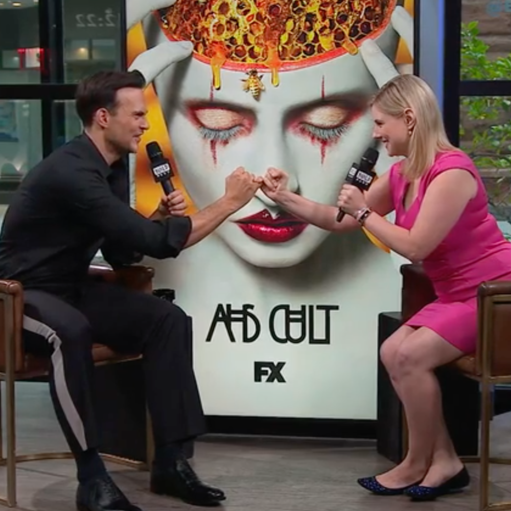 "Cheyenne Jackson ""American  Horror Story: Cult"" and ""Hello Again"""