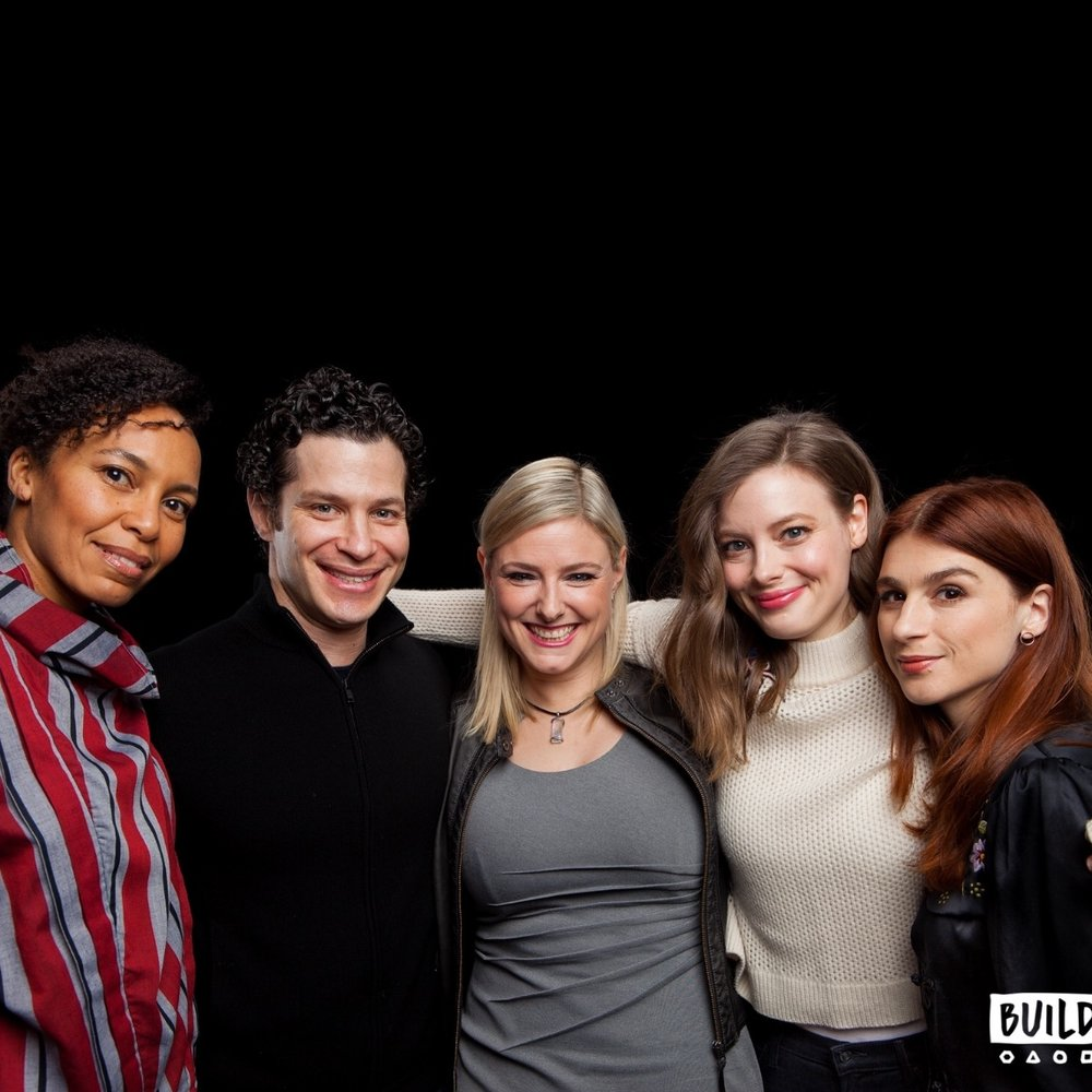 "Eisa Davis, Tommy Kail, Gillian Jacobs & Aya Cash ""Kings"""