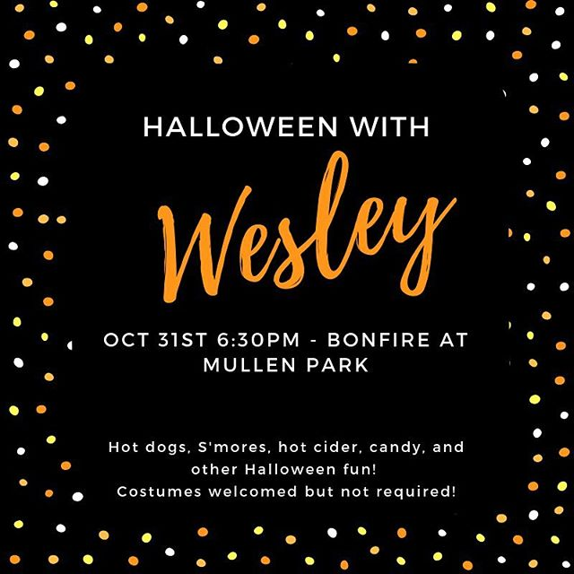 Join us tonight at Mullen park! Bring a friend! #unca #ashevillewesley