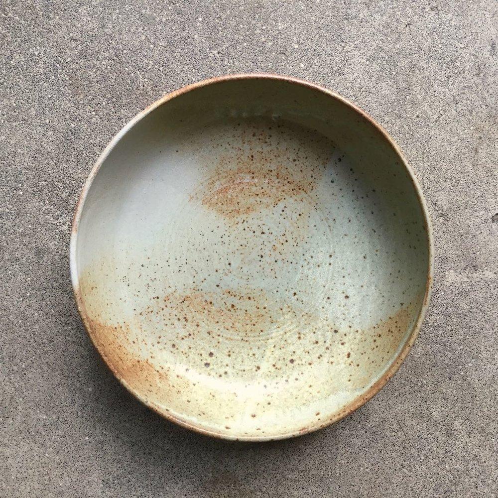 351 Desert sand serving bowl top.jpg