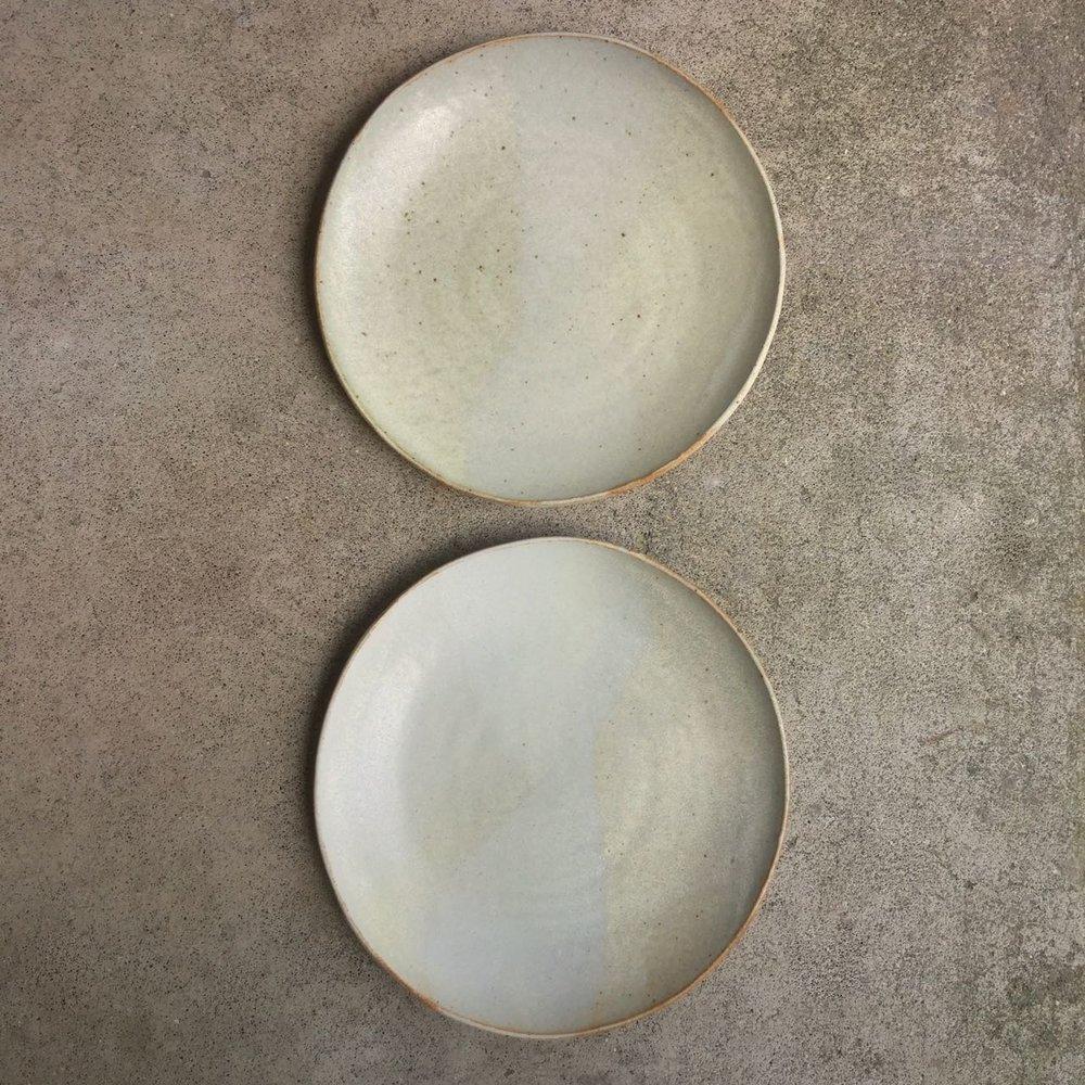 982 Pair dinner plates top.jpg