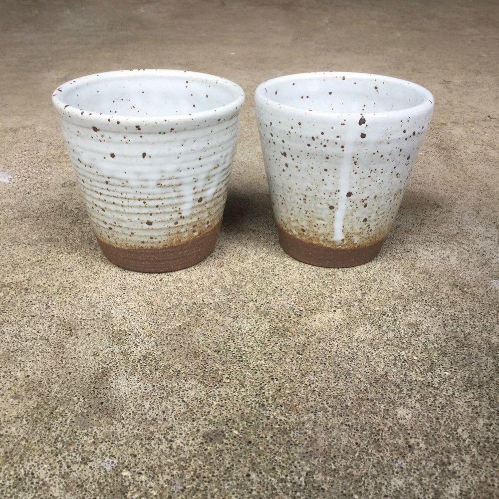 1016 Pair glossy white cups side.jpg