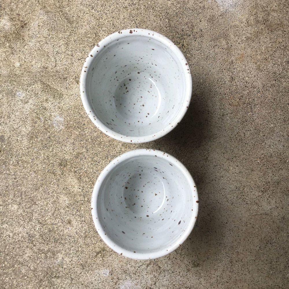 1016 Pair glossy white cups top.jpg