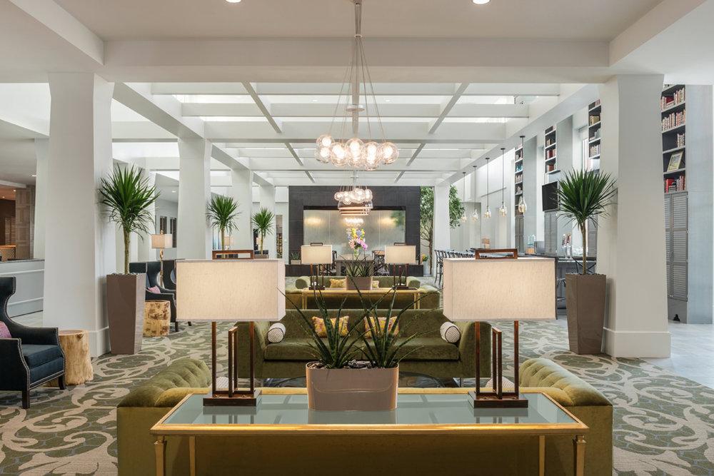 Hilton/Embassy Suites - Charlotte, NCNEW CONSTRUCTION / HOSPITALITY - HENSON ASSOCIATES