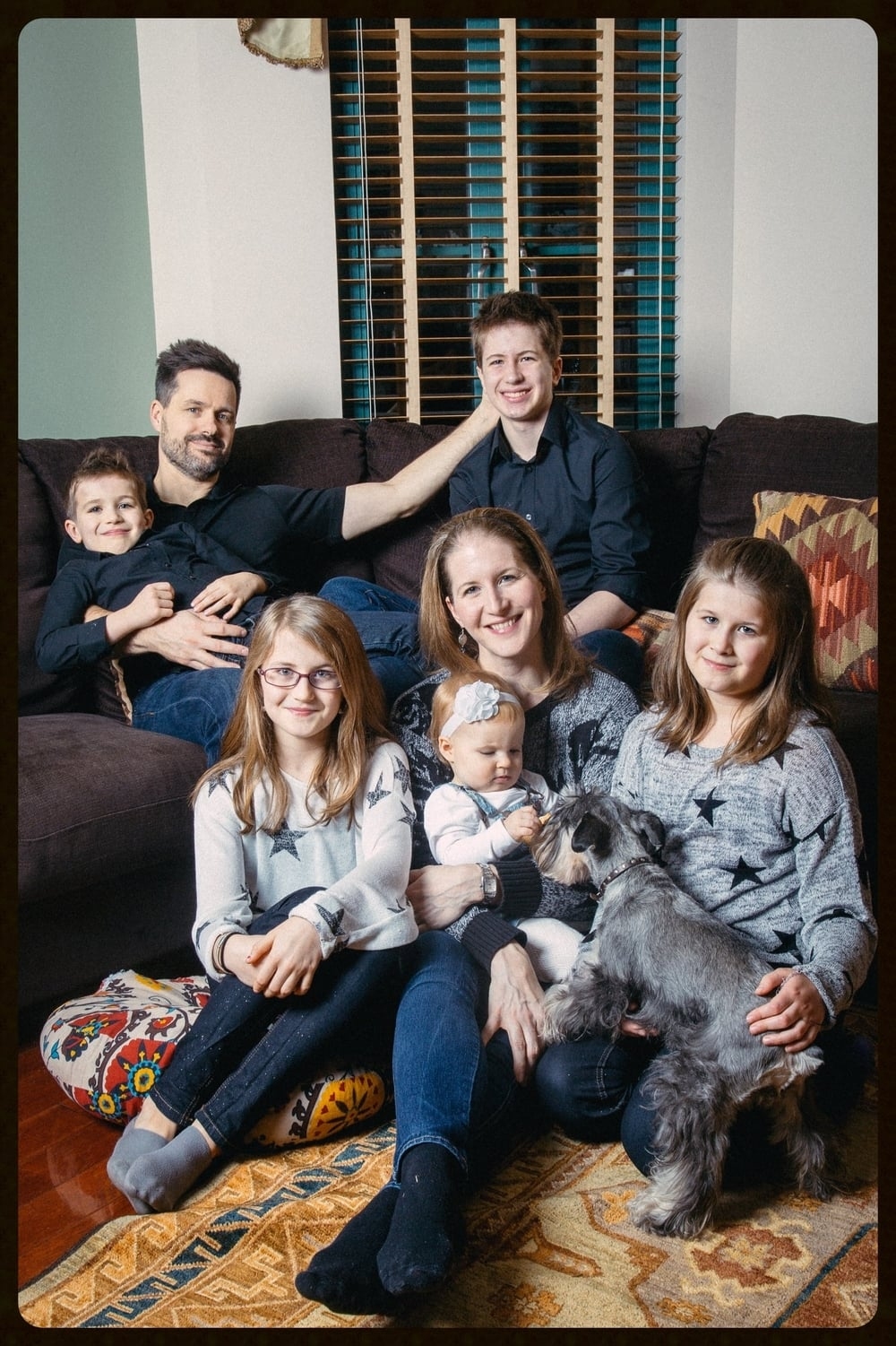 The Weidner Family December 2015.