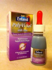 POLYVISOL ENFAMIL WITH IRON (100-150 bottles needed)