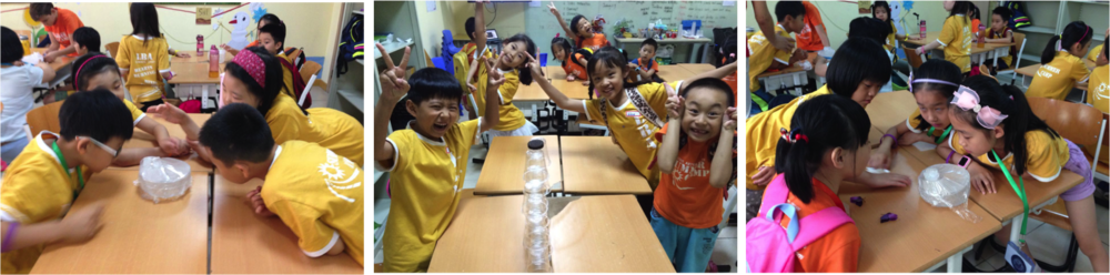 1.  SCIENCE 科学   Children will get to work with hands on experiment and be amazed with new discoveries.  孩子们将动手进行实验,并惊艳于他们的新发现