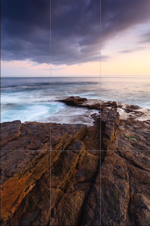 Placing the horizon along the bottom or top third can really enhance an image!