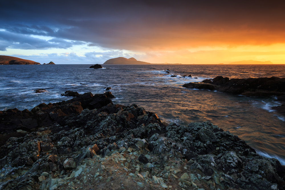 Blasket Sunset