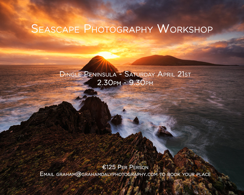 Graham Daly Photography 1 Day Dingle Workshop Apr 21 2018
