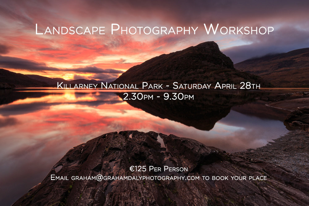 Graham Daly Photography Landscape Photography Workshop Killarney April 28th 2018