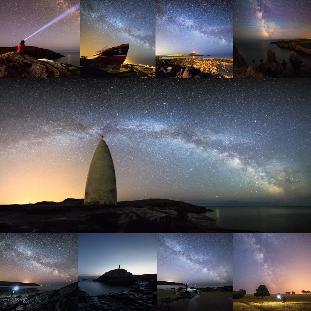Graham Daly Photography Astro Photography Image Collage