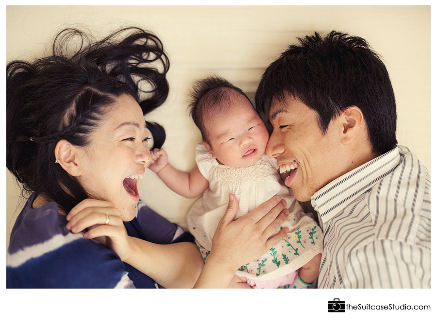 The Suitcase Studio - image from Tomoda family portrait session