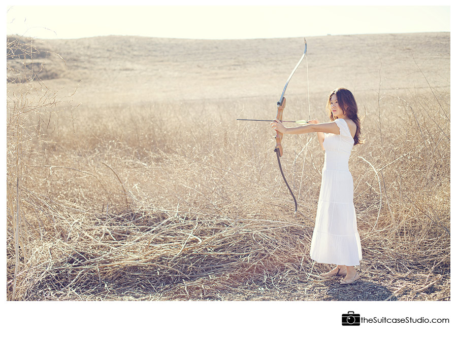Archery Portrait from The Suitcase Studio
