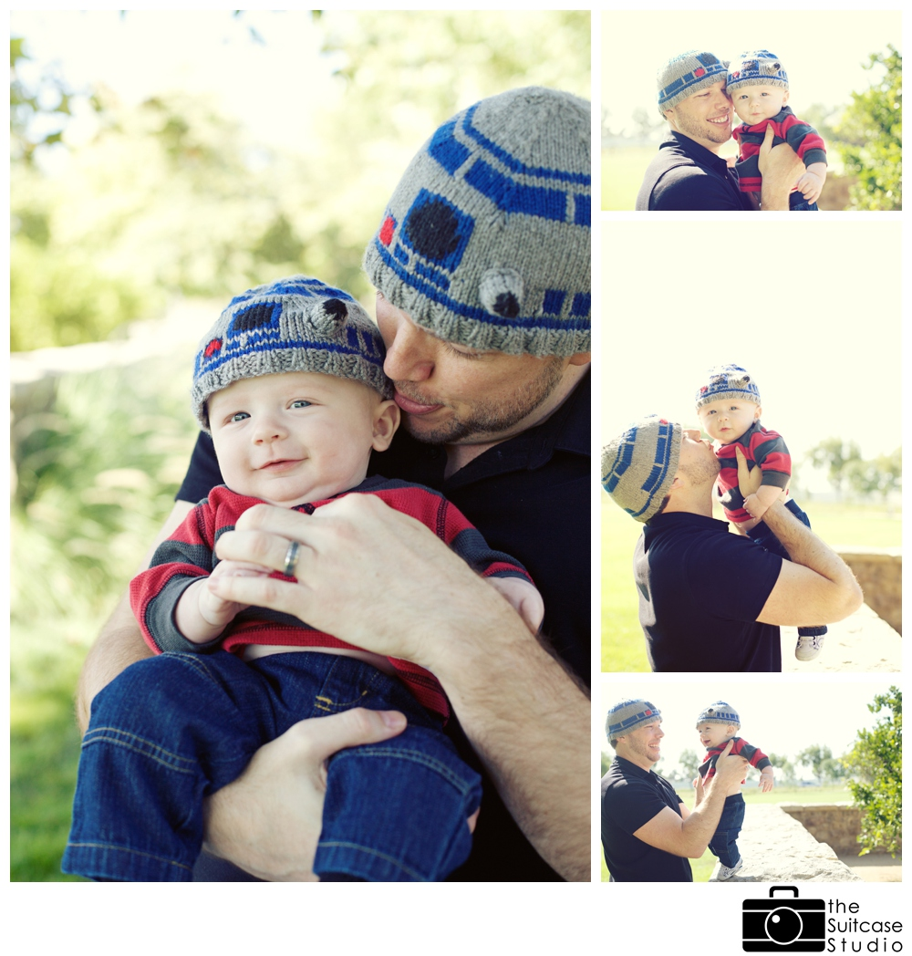 Father and Baby R2D2 by The Suitcase Studio