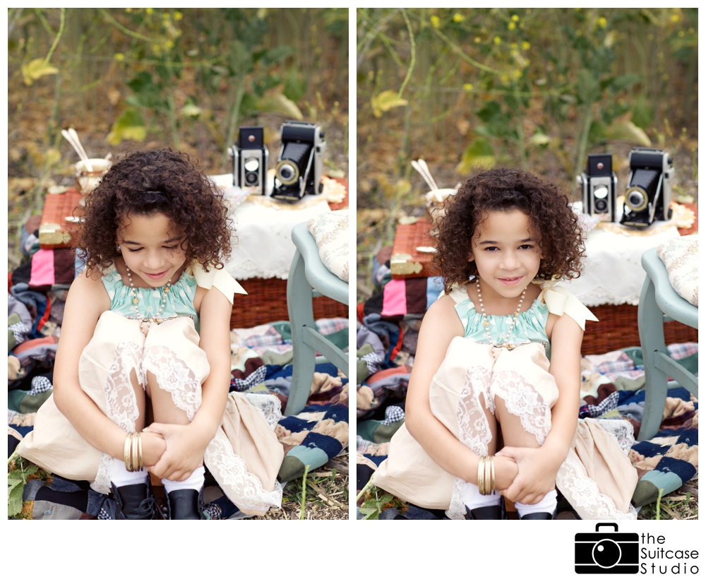 Vintage Spring Childs Portrait Session with The Suitcase Studio_0001