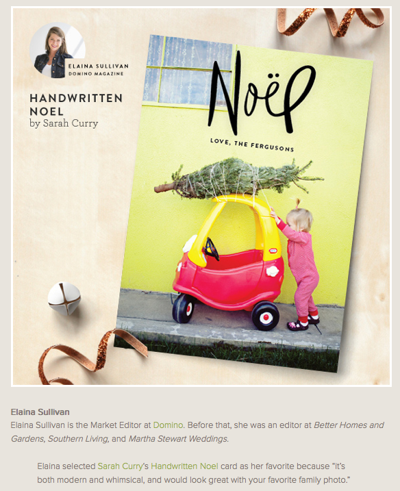 minted card design winner - photo by The Suitcase Studio