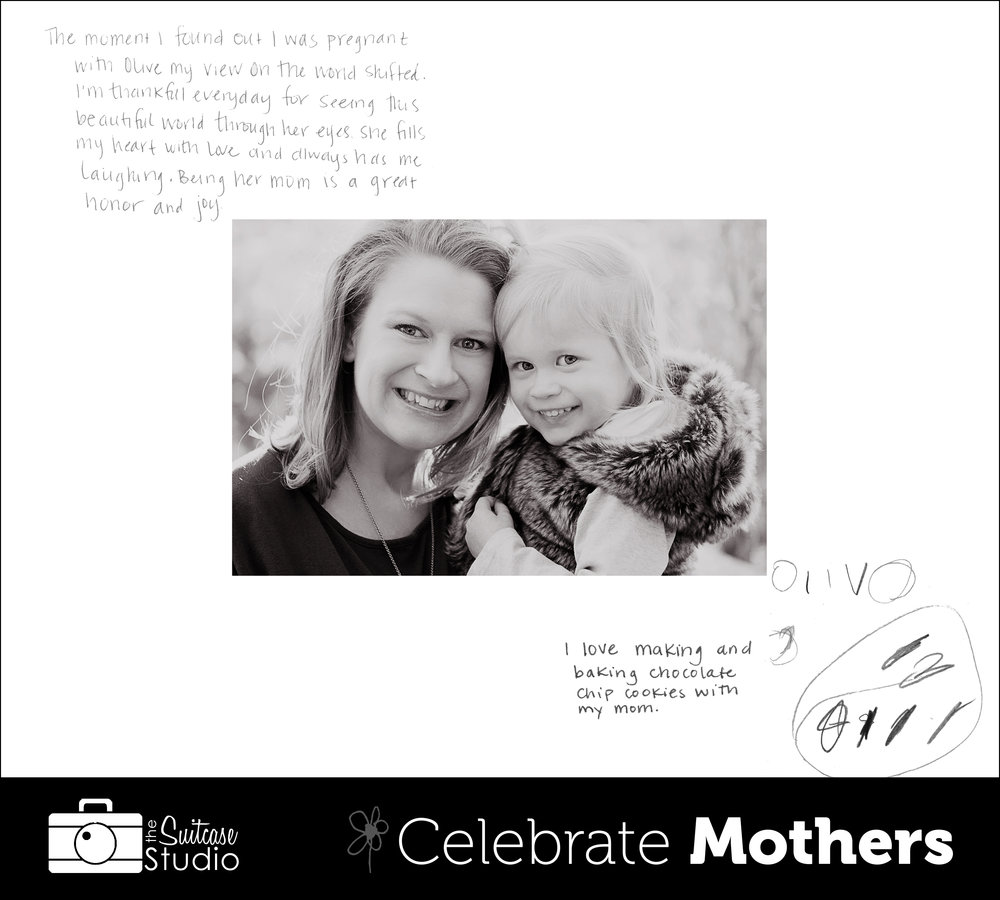 The Suitcase Studio is offering a special mini session event for Mother's Day, celebrating mothers in Bend, Oregon