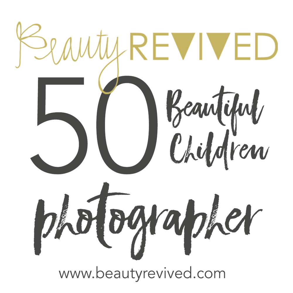 Michelle Simmons of The Suitcase Studio in Bend Oregon was chosen to be a photographer in Beauty Revived 50 Beautiful Children campaign 2018.