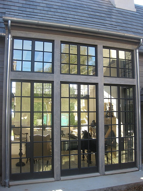 Steel Sash / Putty Glaze Commercial Windows