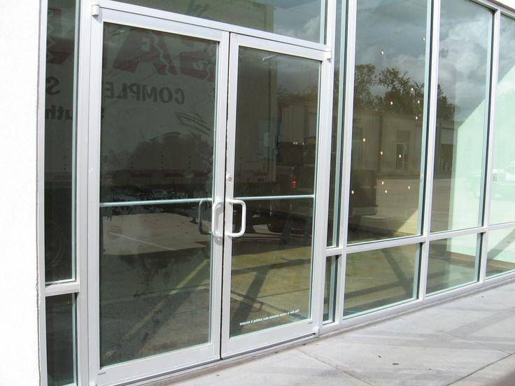 New Commercial Glass Doors Storefront Doors Allnite Glass