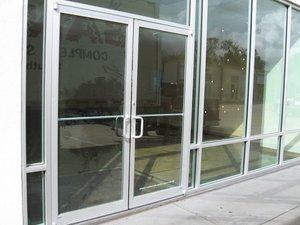 Storefront Doors new commercial glass doors (storefront doors) — allnite glass