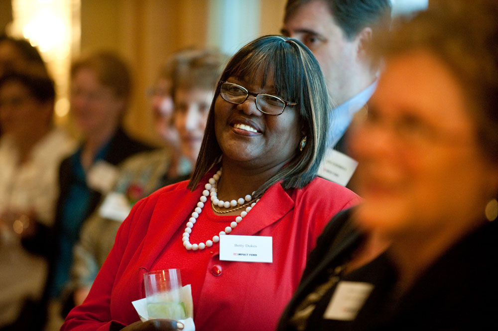 Betty Dukes at Impact Fund's Annual Event in 2010