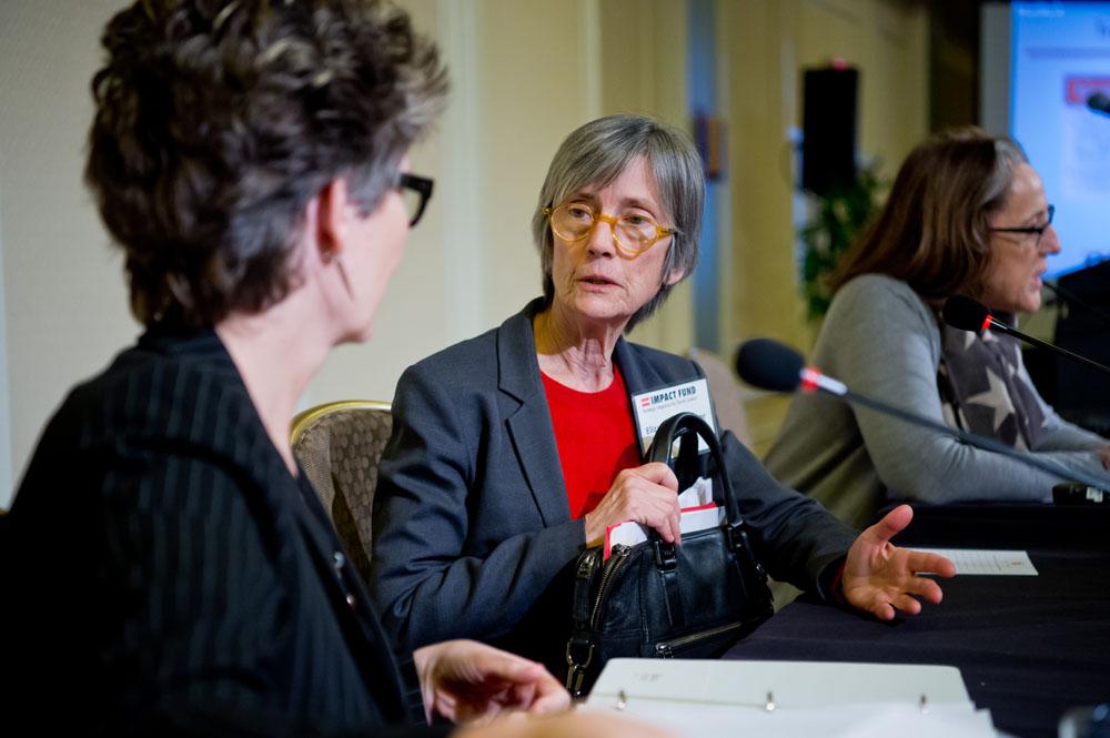 LTR: Leslie Brueckner, Elizabeth Cabraser, Jocelyn D. Larkin